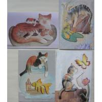 CATS SET OF 4