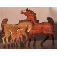 F073-HORSE FAMILY
