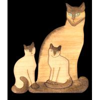 PC001-STANDING CATS