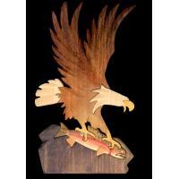 W019-EAGLE ON ROCK