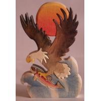 W114-FISHING EAGLE
